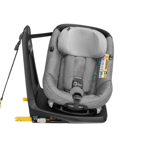 Integrated car seat airbags (AxissFix Air)